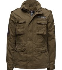 rookie ltd edit'n military jkt tunn jacka grön superdry