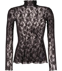wolford katharina stretch-jersey pullover - black