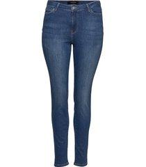 jrfour shape nw med. blue jeans - k noos skinny jeans blå junarose