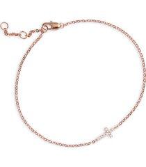 women's nordstrom tiny cross bracelet