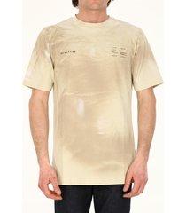 1017 alyx 9sm beige cotton t-shirt
