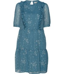 cindygz short dress kort klänning blå gestuz