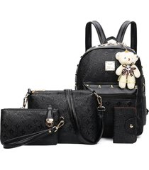 mochila de mujer/ mochila para mujer mochilas-negro