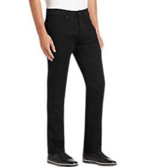 joe joseph abboud black slim fit jeans