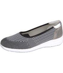elastiska skor naturläufer svart