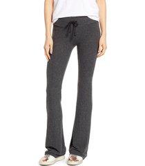 women's wildfox tennis club fleece pants, size x-large - black