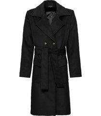 cappotto doppiopetto (nero) - bodyflirt