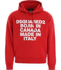 dsquared2 born in canada hoodie