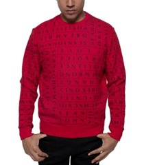 sean john men's mantra sweatshirt