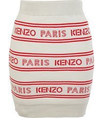 all over kenzo skirt