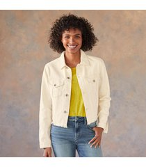 ainsley crop jacket