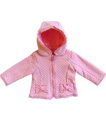 chaqueta little rosa pumucki