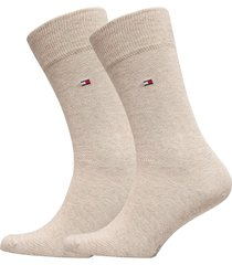 socks 2-pairs underwear socks regular socks creme tommy hilfiger