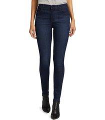 j brand women's maria high-rise skinny jeans - blue - size 25 (2)
