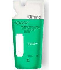 refil condicionador modelador cabelos cacheados lumina - 300ml
