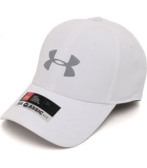gorra gris-naranja under armour ua classic
