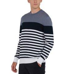 barbour men's brimlad colorblocked stripe sweater