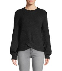 stavan nubbly knit sweater