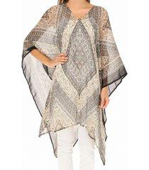 kimono india multicolor humana