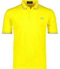 fred perry poloshirt geel