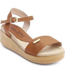 priceshoes sandalia confort dama 072m1960miel