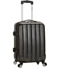 "rockland melbourne 20"" hardside carry-on spinner"