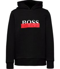 hooded sweatshirt hoodie trui zwart boss