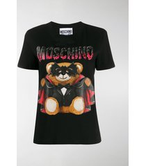 moschino bat teddy t-shirt