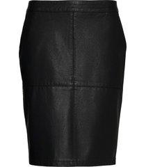 sc-gunilla knälång kjol svart soyaconcept
