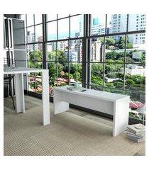 banco para mesa de jantar branco lilies móveis