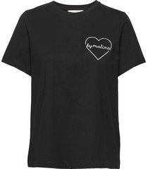 darling tee t-shirts & tops short-sleeved svart by malina
