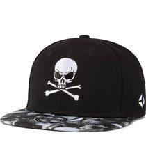 sombrero de hombre hip hop calle monopatín sombrero-negro