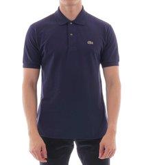 lacoste classic pique polo shirt | navy | l1212
