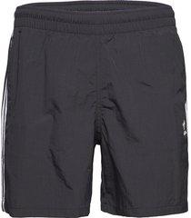 adicolor classics 3-stripes swim shorts badshorts svart adidas originals