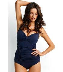 seafolly indigo goddess swimsuit
