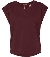 boxy fit tee t-shirts & tops short-sleeved lila scotch & soda
