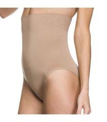 calcinha modeladora zee rucci tanga alta sem costura pele