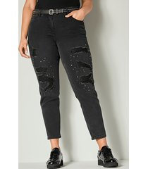 jeans angel of style black stone