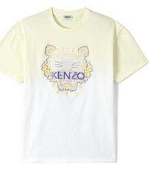 dip dye tiger t-shirt
