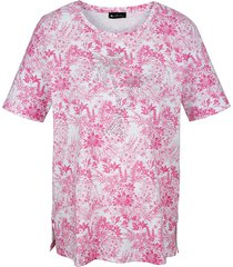 shirt m. collection pink::wit