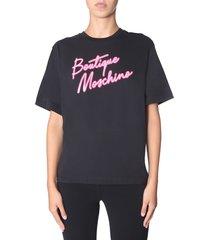 boutique moschino round neck t-shirt