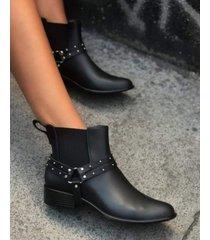 botas de lluvia negra tamara shoes