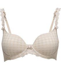 avero padded bra lingerie bras & tops full cup beige marie jo