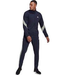 trainingspak adidas sportswear cotton tracksuit