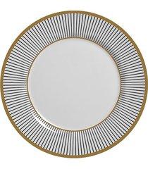 prato de sobremesa alleanza coleção prata ritz cinza 19,5cm
