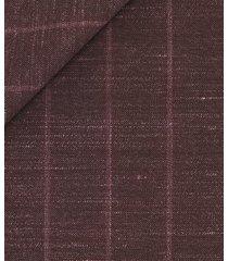 giacca da uomo su misura, vitale barberis canonico, lana seta lino rigato, primavera estate | lanieri