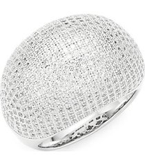 classic sterling silver cocktail ring