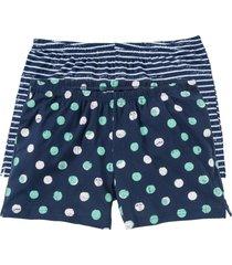 shorts per pigiama (pacco da 2) (blu) - bpc bonprix collection