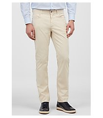 1905 collection tailored fit flat front casual pants clearance by jos. a. bank