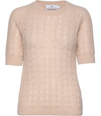 georgina pointelle t-shirts & tops knitted t-shirts/tops rosa arnie says